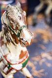 Antique Carousel Horse Royalty Free Stock Photography