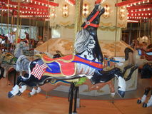 Antique Carousel Horse stock images