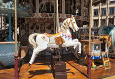 Antique carousel,Merry Go Round Stock Image