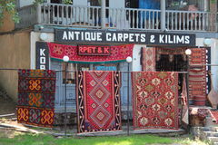 Antique carpets Stock Images