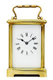 Antique Carriage Clock Royalty Free Stock Photos