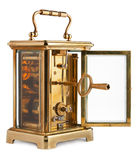 Antique Carriage Clock Royalty Free Stock Image