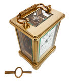Antique Carriage Clock Stock Photography