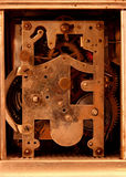 Antique Carriage Clock Movement Royalty Free Stock Image