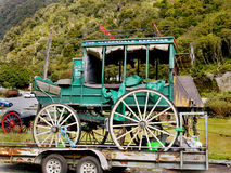 Antique Carriage, Horse Wagons, New Zealand Stock Image
