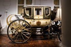 Free Antique Carriage On Exhibitin The Marstallmuseum Royalty Free Stock Photos - 100563498