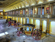 Antique Carriages, Royal Coaches stock images