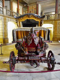 Antique Carriages, Royal Coaches royalty free stock images
