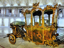 Antique Carriages, Royal Coaches stock photography