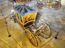 Antique Carriages, Royal Coaches stock image