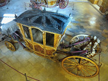 Antique Carriages, Royal Coaches royalty free stock photography