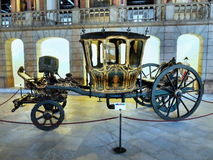 Antique Carriages, Royal Coaches royalty free stock image