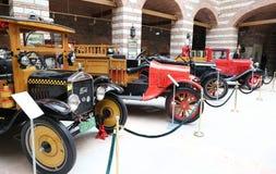 Antique Cars in Ankara Koc Museum Stock Image