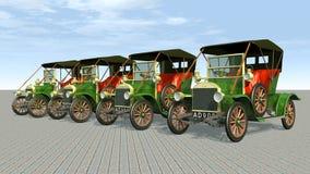 Antique Cars Royalty Free Stock Photos