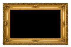 Antique carved frame Royalty Free Stock Photography