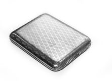 Free Antique Case For Cigarettes Stock Photography - 49741922