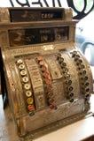 Antique cash register. Vintage cash register in an old store Royalty Free Stock Image