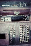 Antique Cash Register. An old rusty antique cash register Stock Images