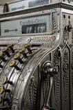 Antique cash register. An antique portuguese cash register Stock Photo