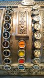 Antique cash register Stock Photography