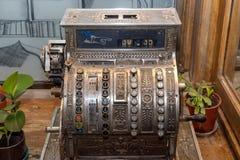 Antique cash register. Stock Images