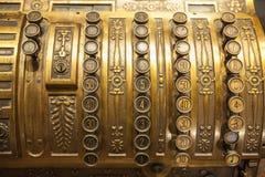 Antique cash register Stock Images