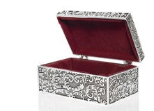 Antique casket Stock Image
