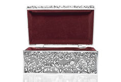 Antique casket Stock Images