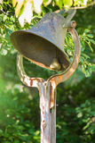 Antique Cast Iron Bell Stock Images