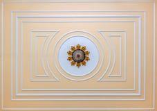 Antique ceiling lamp Stock Image