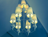 Antique Ceiling Lights Stock Image