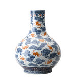 Antique ceramic vase Royalty Free Stock Photos