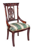 Antique chair. Against white background royalty free stock photos