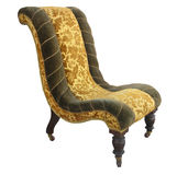 Antique Chair. Isolated with clipping path stock image