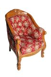Antique chair. Image on the white background royalty free stock photography