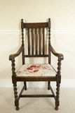 Antique Chair. Antique wood Chair close up stock photography