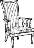 Antique Chair Royalty Free Stock Photography