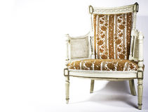 Antique Chair. An old vintage Antique chair Royalty Free Stock Photo