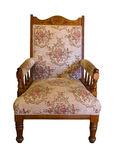 Antique chair (with path) Royalty Free Stock Images