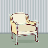 Antique Chair retro style Royalty Free Stock Photos