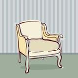 Antique Chair retro style Royalty Free Stock Photos