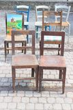 antique chairs Stock Photos