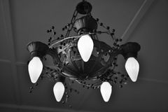 Antique chandelier Royalty Free Stock Photos