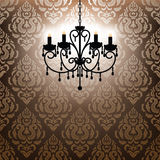 Antique chandelier light Royalty Free Stock Image