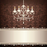 Antique chandelier Stock Photo