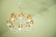 Antique chandelier Stock Photos