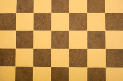 Antique Checkerboard Background Stock Photos