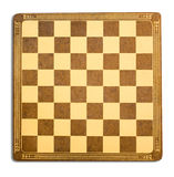 Antique Checkerboard Background. A brown and yellow antique checkerboard background Royalty Free Stock Image