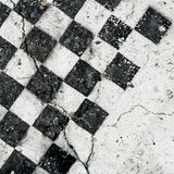 Antique chess board Stock Images
