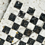 Antique chess board Royalty Free Stock Image